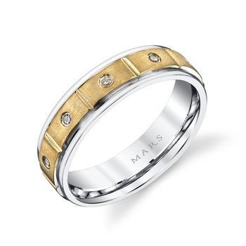 MARS G134 Men's Wedding Band
