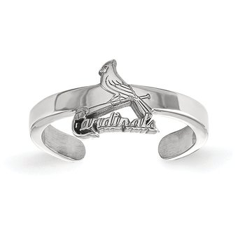 Sterling Silver St. Louis Cardinals MLB Ring