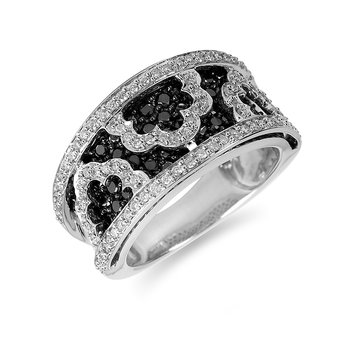 14K WG Diamond Fashion Ring