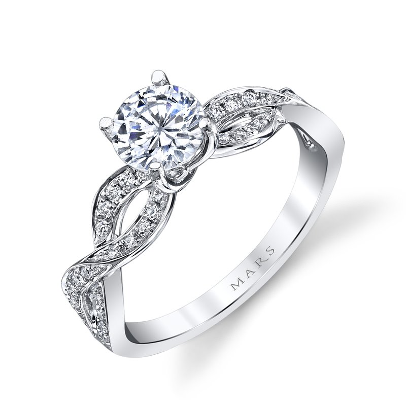 MARS Jewelry - Engagement Ring 26534
