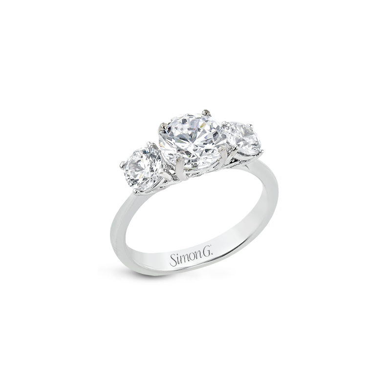 Simon G LR2843 ENGAGEMENT RING