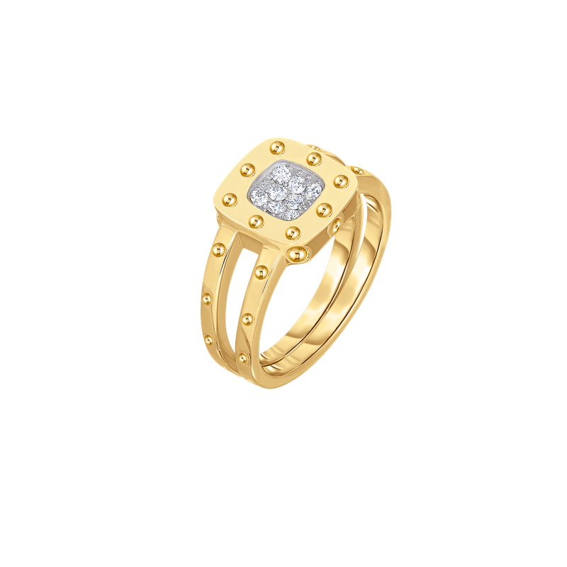 Roberto Coin 18Kt Gold Diamond Ring
