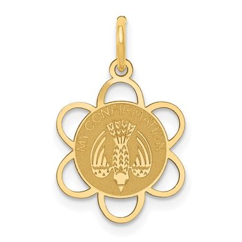 14k My Confirmation Charm