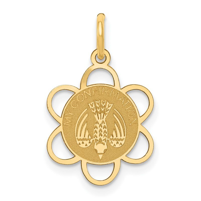 Quality Gold 14k My Confirmation Charm