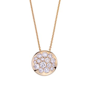 Yellow Gold Diamond Tango Pendant