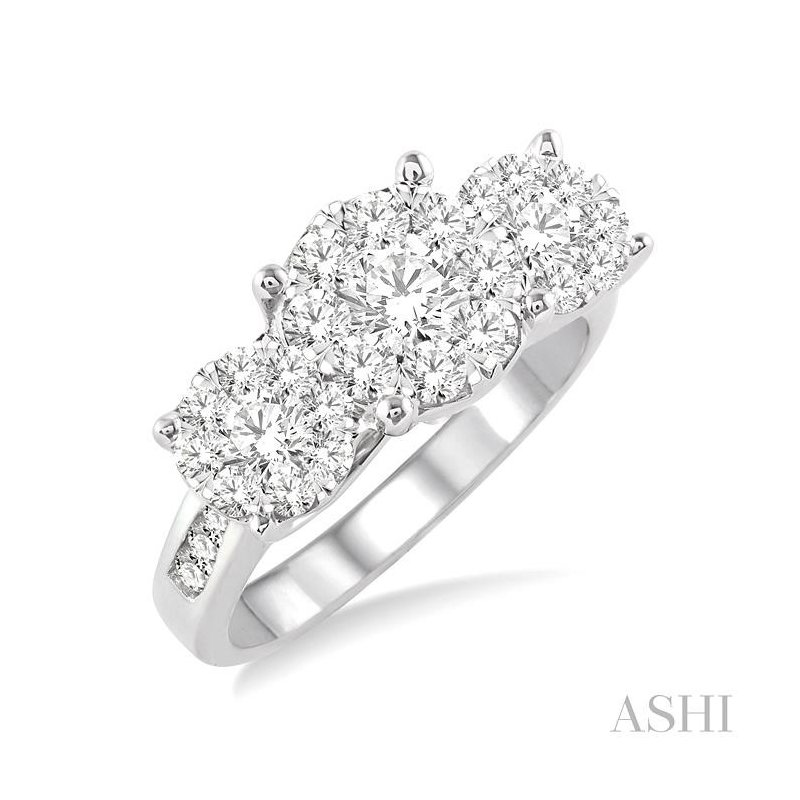ASHI past present & future lovebright diamond ring