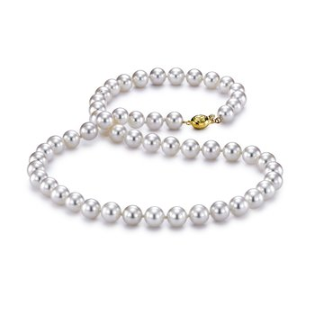 "6.5-7MM 18"" Akoya Pearl Strand Necklace"