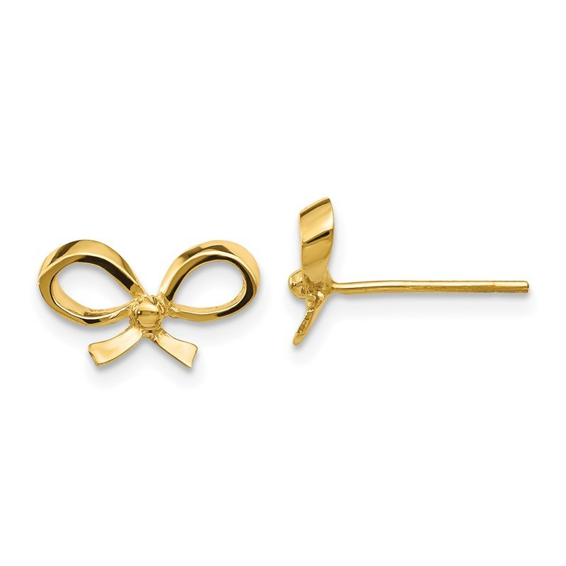Lester Martin Online Collection 14k Bow Post Earrings