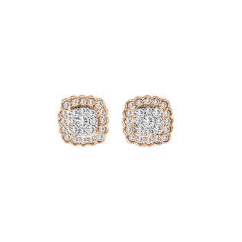 14K 0.50Ct Diamond Earring