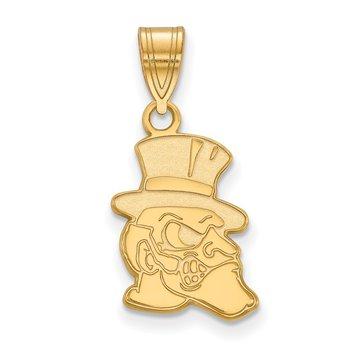 Gold Wake Forest University NCAA Pendant