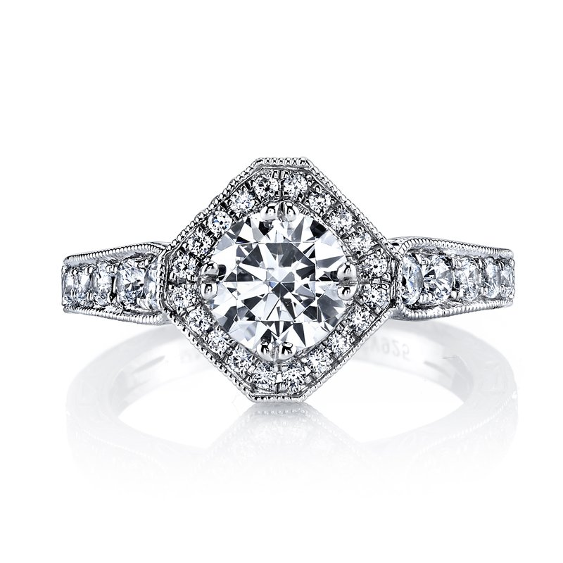 MARS Jewelry MARS 26100 Diamond Engagement Ring, 0.66 Ctw.
