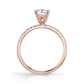 MARS 26297-OV Engagement Ring, 0.15 Ctw.