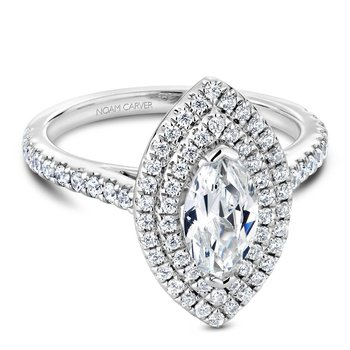 Noam Carver Fancy Engagement Ring R051-07A