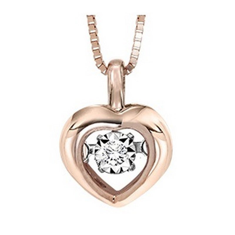 Rhythm of Love 10KP Diamond Rhythm Of Love Pendant