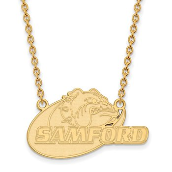 Gold Samford University NCAA Necklace