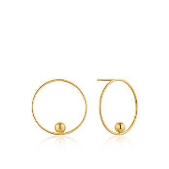 Orbit Front Hoop Earrings