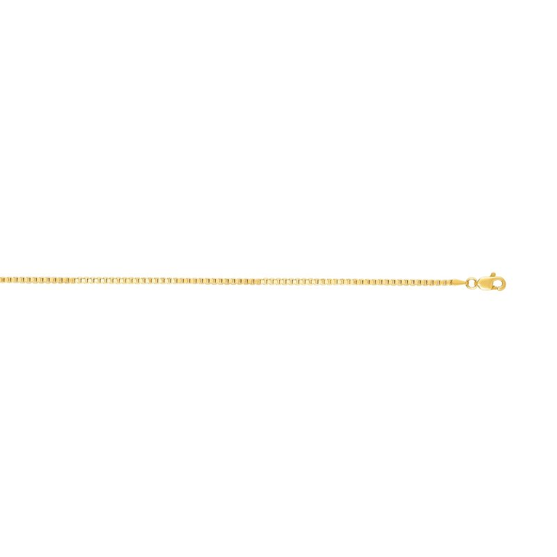Royal Chain 14K Gold 1.8mm Semi-Solid Box Chain