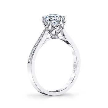 MARS 25283 Diamond Engagement Ring 0.16 ct tw