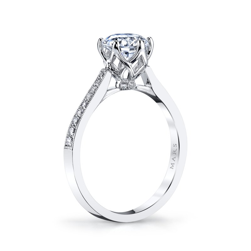 MARS Jewelry - Engagement Ring 25283