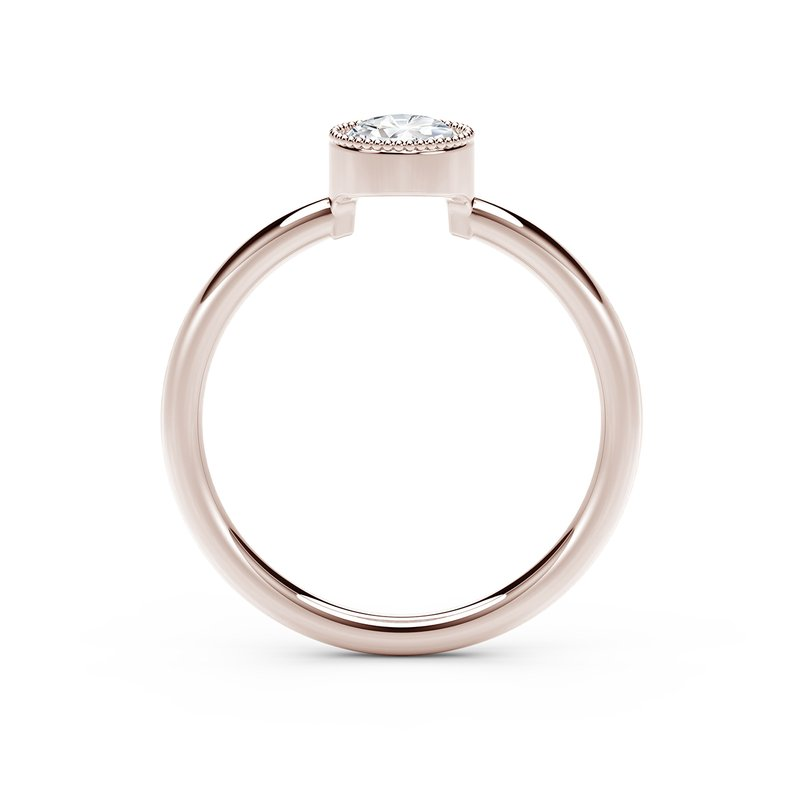 Forevermark Black Label The Forevermark Tribute™Collection Milgrain Bezel Ring