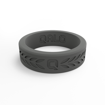 Women's Laurel Charcoal Silicone Ring