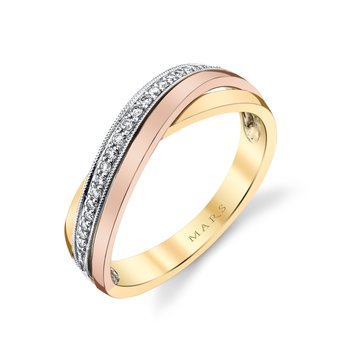 MARS 26866 Fashion Ring, 0.10 Ctw.