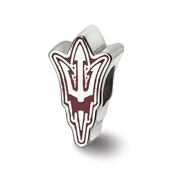 Sterling Silver Arizona State University NCAA Bead