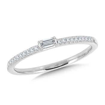 Straight Diamond Band