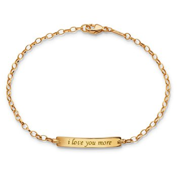 I Love You More Poesy Bracelet