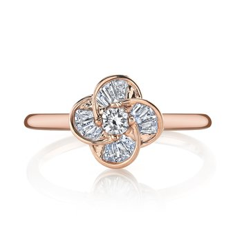 MARS 26892 Fashion Ring, 0.08 ct rd. 0.18 ct dia bg.