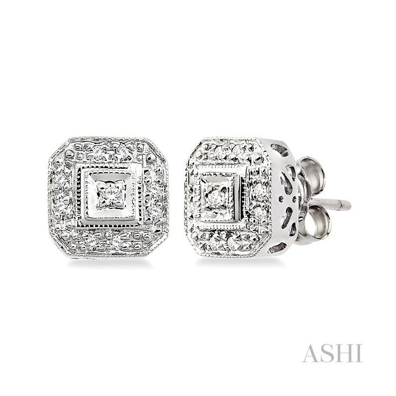 ASHI diamond earrings