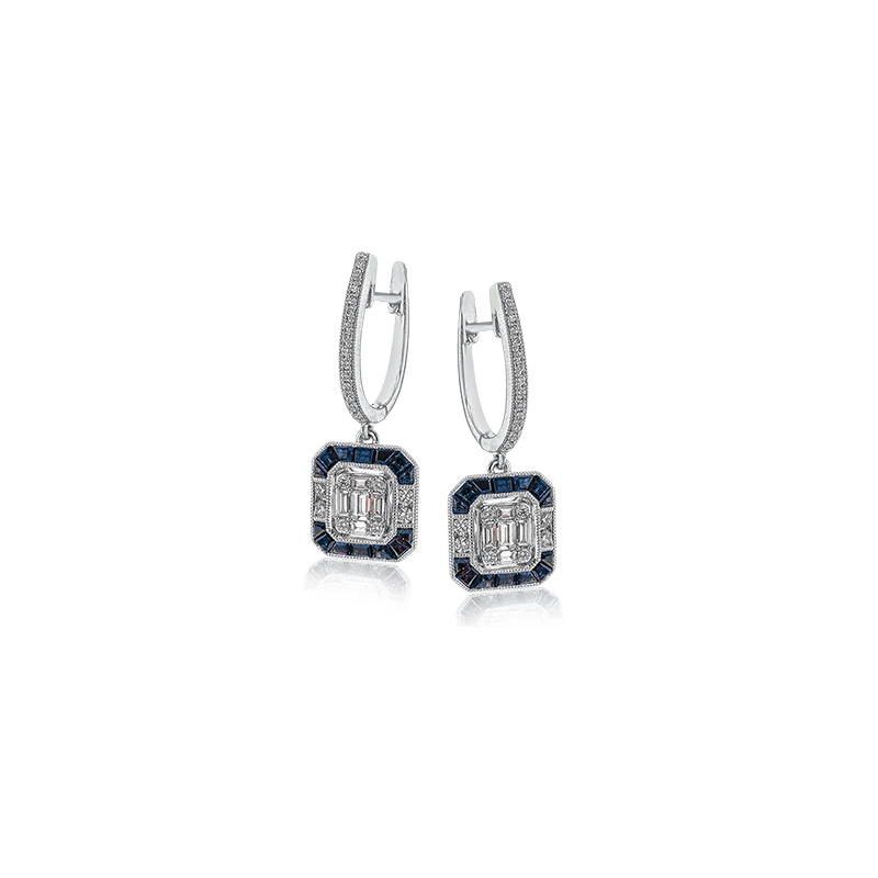 Zeghani ZE639 COLOR EARRING