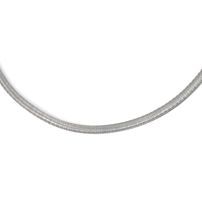 Leslie's Leslie's Sterling Silver Rhodium-plated with 2in ext. Necklace