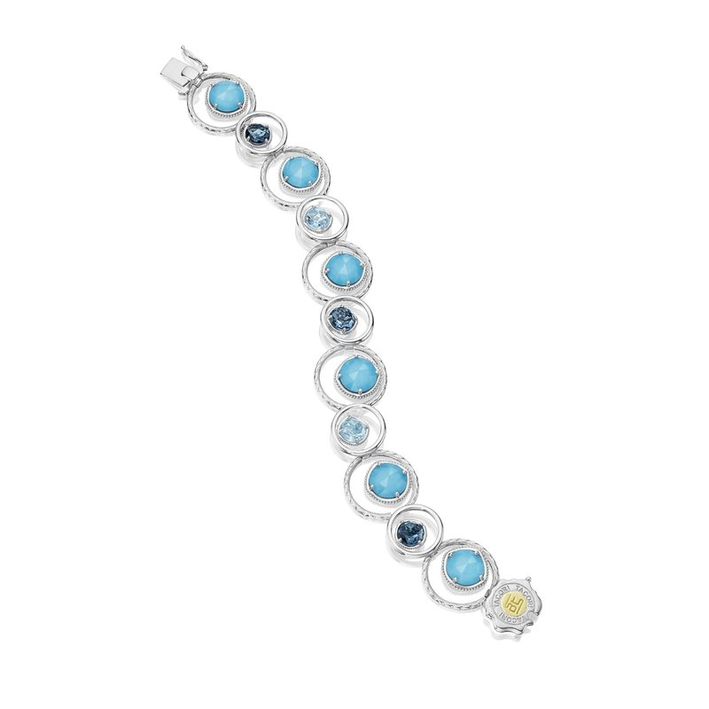 Tacori Fashion Enchanted Pool Petite Bracelet featuring Assorted Gemstones