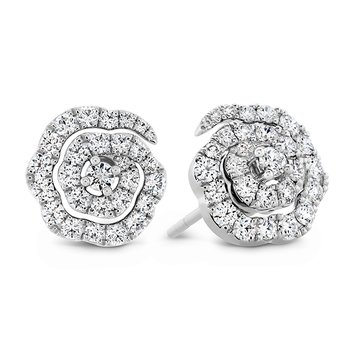 0.58 ctw. Lorelei Diamond Floral Earrings - Small