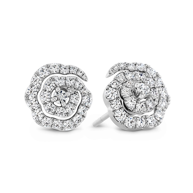 Hearts on Fire 0.58 ctw. Lorelei Diamond Floral Earrings - Small