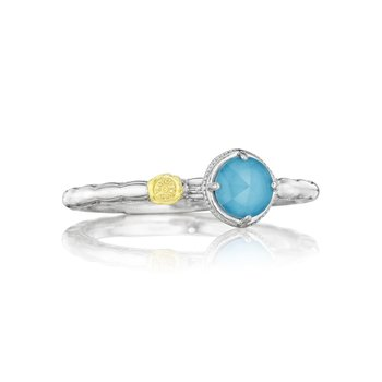 Petite Simply Gem Ring featuring Neo-Turquoise