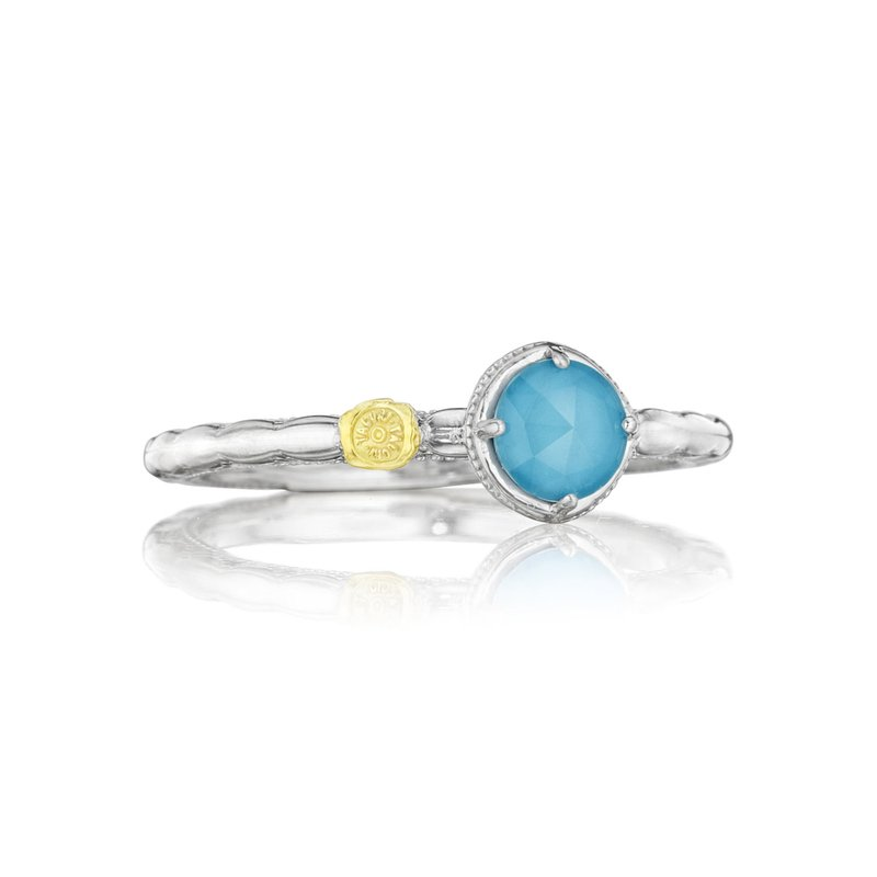 Tacori Fashion Petite Simply Gem Ring featuring Neo-Turquoise