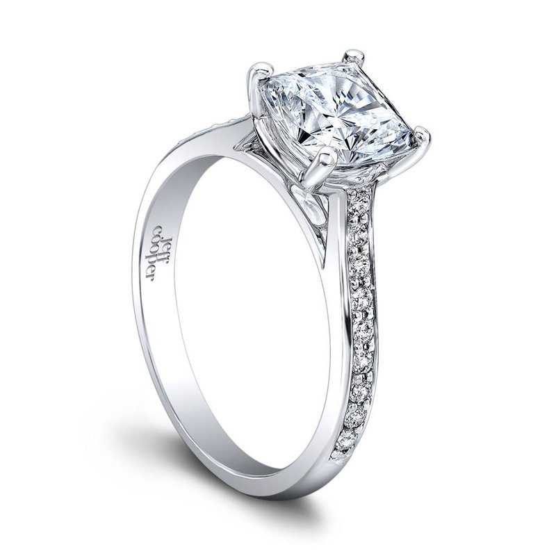Jeff Cooper Caitlyn Engagement Ring