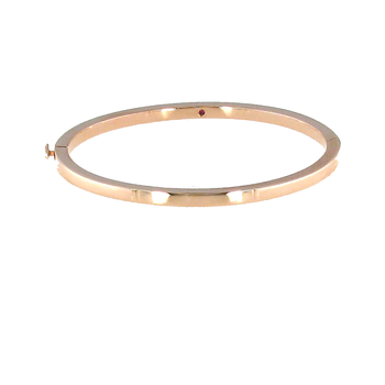 #26549 Of 18Kt Gold Classic Oval Bangle