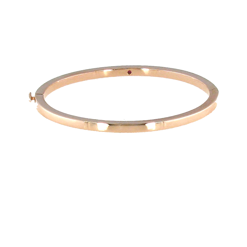 Roberto Coin  #26549 Of 18Kt Gold Classic Oval Bangle