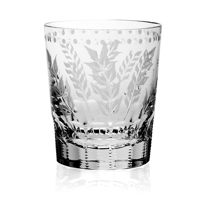 William Yeoward Fern Tumbler Double Old Fashioned