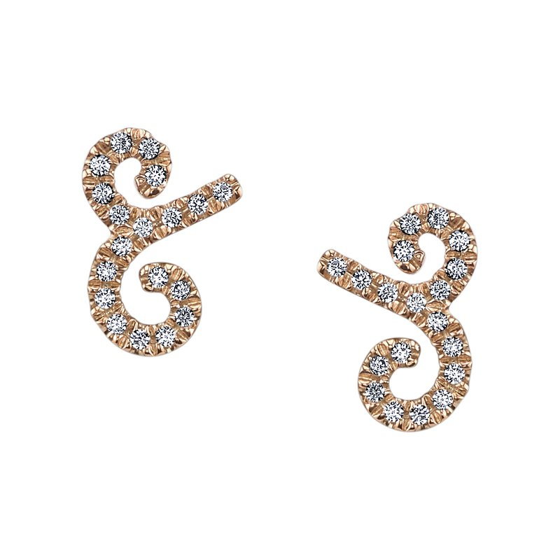 MARS Jewelry MARS 26626 Fashion Earrings, 0.14 Ctw.