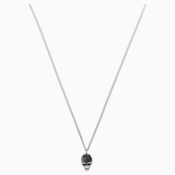 Taddeo Pendant, Black, Palladium plated