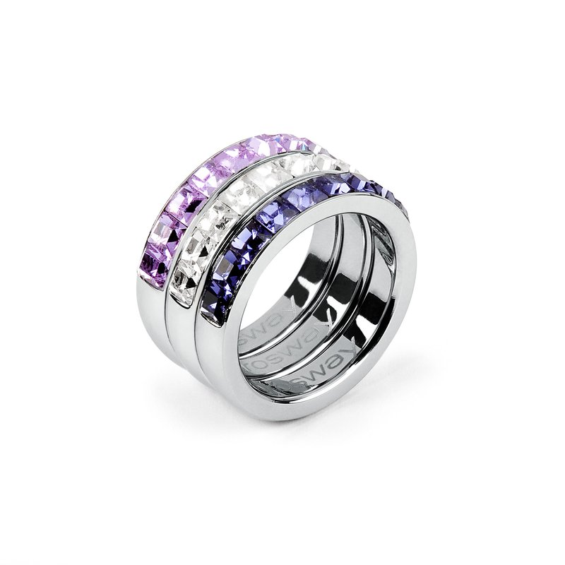 Brosway 316L stainless steel and coloured Swarovski® Elements crystals.