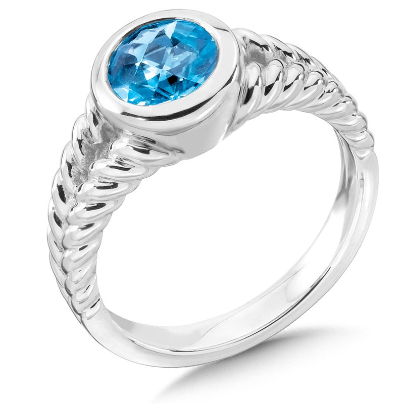 Colore Sg Sterling Silver & Blue Topaz Ring