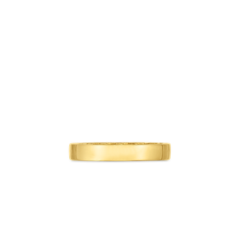 18Kt Gold Golden Gate Band Ring
