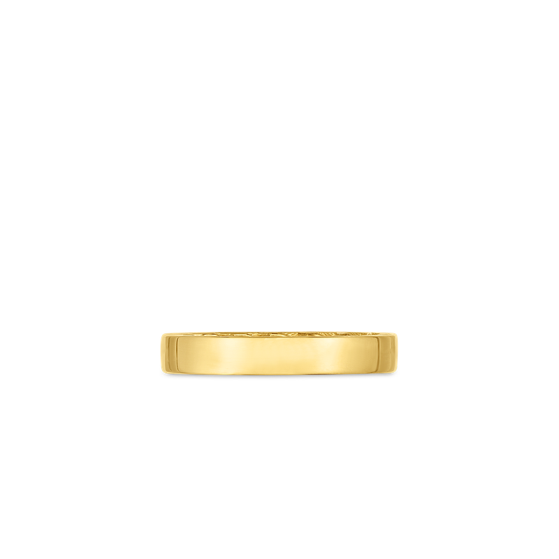 Roberto Coin 18Kt Gold Golden Gate Band Ring