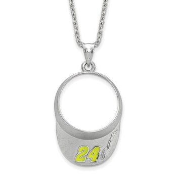 Sterling Silver 24 Jeff Gordon NASCAR Charm