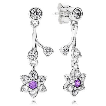 Forget Me Not, Purple Clear Cz